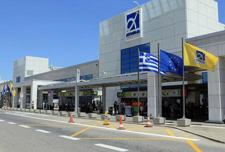 athens airport rent a car
